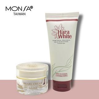 Bộ 2 sản phẩm hara white kem dưỡng da mặt và sữa rửa mặt - B2KDSRM thumbnail