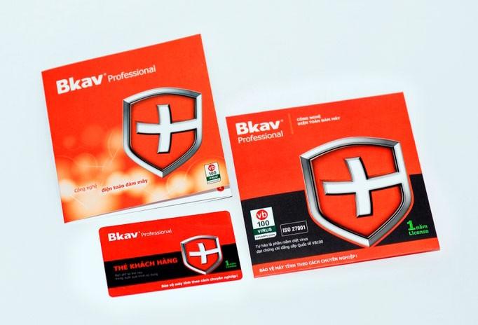 phần mềm Diệt virus BKAV Pro - BKAVPro chính hãng
