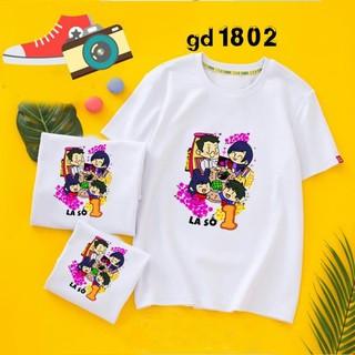 bộ áo phông gia đình - áo thun gia đình rẻ thumbnail