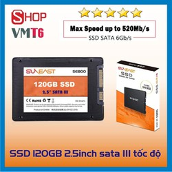 Ổ Cứng SSD 120GB Sunneast Sata 3 chuẩn 2.5inch chính hãng - Hàng chính hãng công nghệ nhật bản !