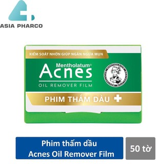 Phim thấm dầu Acnes Oil Remover Film 50 tờ 5.0 - 0877 thumbnail