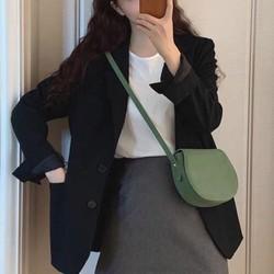 Đang Về   Mẫu Mới  Áo Khoác Vest  Áo Blazer Nữ Tay Khuy Hàng Đẹp