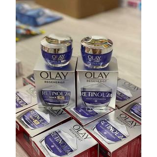 Kem dưỡng ẩm tái tạo da trắng sáng ban đêm Olay RETINOL24 MAX Night Cream - 3453464356456 thumbnail