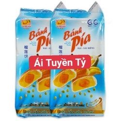 Combo 2 Túi Bánh Pía Đậu Xanh Sầu Riêng 5 Sao Tân Huê Viên x 600gr [Đặc Sản Sóc Trăng]
