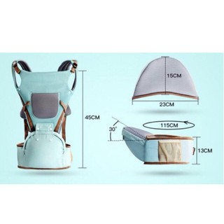 [Hàng có sẵn]Địu BABYLAB - 9 tư thế - ngồi địu ngồi trợ lực chống gù cho bé gon nhẹ tiện dụng [ĐƯỢC KIỂM HÀNG] - 37730440 thumbnail