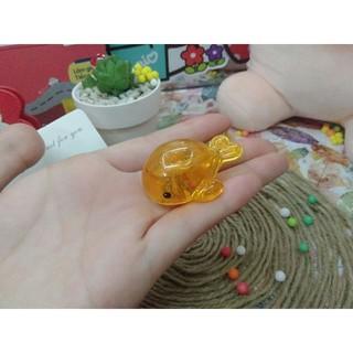 Đồ chơi cá con lấp lánh nhiều màu sắc thả bồn tắm cho bé - CáCon 1