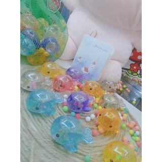 Đồ chơi cá con lấp lánh nhiều màu sắc thả bồn tắm cho bé - CáCon 2