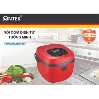 Nồi cơm điện thông minh ONTEK CFXB50-B cao cấp, Xách tay tiện lợi - BH 12 Tháng (lỗi 1 đổi 1) - Nồi cơm điện tử thumbnail