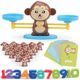 Đồ Chơi Con Khỉ Học Toán Cân Bằng Thông Minh - Bộ Đồ Chơi Thông Minh Cho Trẻ Em [ĐƯỢC KIỂM HÀNG] - 37760627 thumbnail