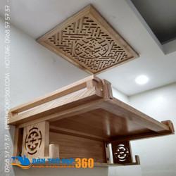 Mua bàn thờ treo tường ở hà nội đẹp hợp phong thủy nhà bạn!