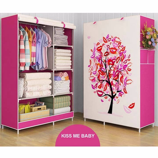 Tủ vải 3D 6 ngăn nhỏ và 2 buồng chống thấm mốc - TV628289 thumbnail