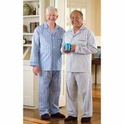 Bộ Pijama Nam Trung Niên - Bộ Kẻ Ông Già
