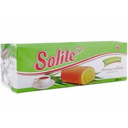 [Lẻ] Combo 5 Bánh bông lan cuộn kem Solite 18g