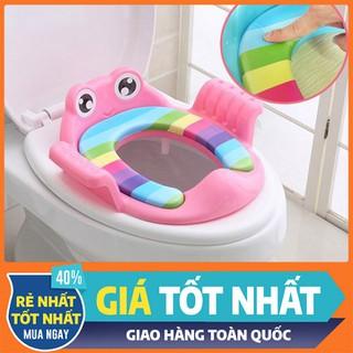 Lót ngồi toilet, hỗ trợ vệ sinh cho bé - Màu xanh - vệ sinh cho bé - Màu xanh thumbnail