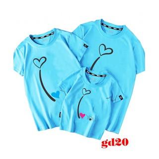bộ áo thun gia đình LOVE - mẫu áo thun cho gia đình thumbnail