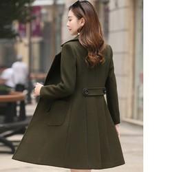 [cho xem hàng] áo khoác măng tô nữ