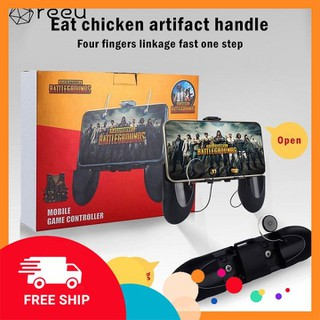 [ NHẬP SPHUKCNXT6 GIẢM 20K ] Tay Cầm Chơi Game W12 nâng cấp W10 Hỗ Trợ Game Pubg, Ros, Free Fire Controller - 022 thumbnail