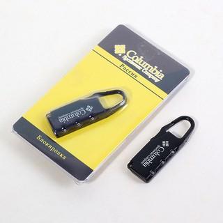 khóa số mini du lịch - khóa balo - túi xách - khóa cặp - KMN thumbnail