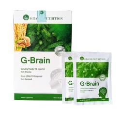 siêu giảm giá cuối năm Cốm trí não G-Brain - bổ sung DHA  các dưỡng chất từ Tảo non  hạt óc chó  hỗ trợ phát triển trí não cho trẻ cam kết
