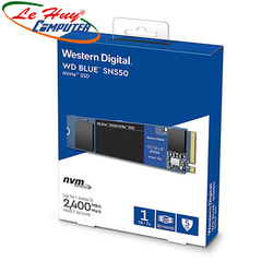 SSD Western Digital Blue 1TB SN550 NVMe PCIe Gen3x4 8 Gb/s WDS100T2B0C