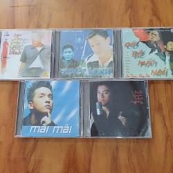 Bộ 5 Đĩa CD Ca Sĩ Việt Nam Nổi Tiếng Thập Niên 90 – BỘ 2