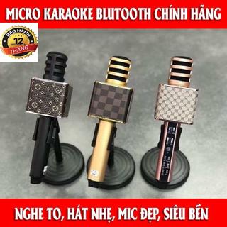 Micro Bluetooth Hát Karaoke Cho Điện Thoại Ipad - JFDHS23GA3fasd2f3F2f thumbnail