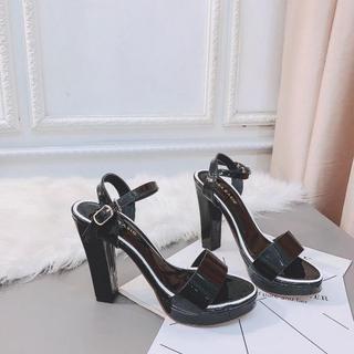 Giày sandanl cao gót viền loại xịn - dh36363 3