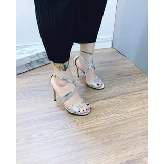 Giày Sandanl cao gót quai chéo sang trọng - dh5215 8