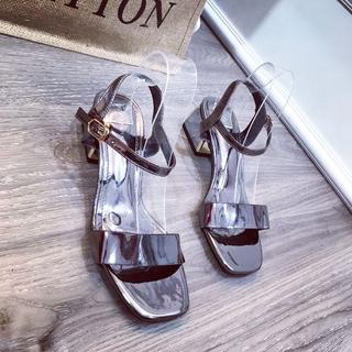 Giày sandal bản phối kim tuyến - dh62728 1