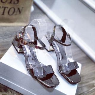 Giày sandal bản phối kim tuyến - dh62728 4