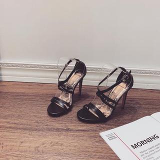 Giày Sandanl cao gót quai chéo sang trọng - dh5215 thumbnail