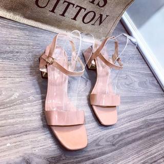 Giày sandal bản phối kim tuyến - dh62728 3
