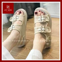 Giày Sandal Cao Gót Nữ Quai Ngang 9cm Thanh Lịch
