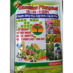 Phân bón NPK 18-46-0-DAP chuyên dùng hoa, cây cảnh, cây ăn trái - gói 200 gram BIOMAX