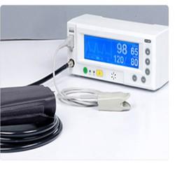 Máy đo spo2 và huyết áp để bàn ip-1020