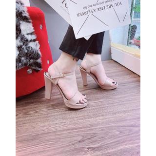 Giày sandanl cao gót viền loại xịn - dh36363 5