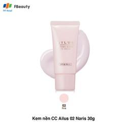 KEM NỀN TRANG ĐIỂM NARIS COSMETIC AILUS NATURAL BEAUTY CC CREAM SPF28 30G CHÍNH HÃNG