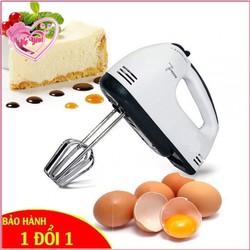Máy đánh trứng cầm tay 7 tốc độ scarlett - đánh trứng, đánh kem, đánh bơ, nhào bột bánh, trộn salad...