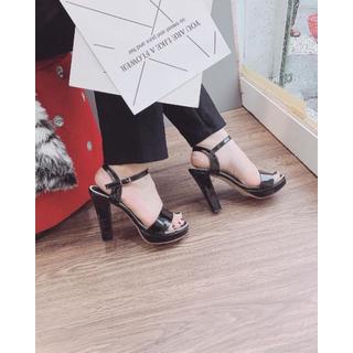 Giày sandanl cao gót viền loại xịn - dh36363 4