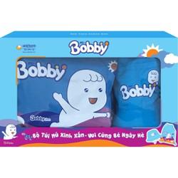 Bộ Túi Và Mũ Bobby Cho Bé  Hàng Tặng Bobby