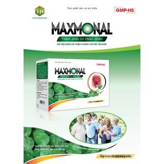 Viên Uống bổ trĩ Maxmonal - Giúp giảm triệu chứng đau rát, chảy máu, ngứa, sa búi trĩ . Giúp tăg tính bền thành mạch, . giảm táo bón- Hộp 30 viên - Viên Uống bổ trĩ Maxmonal thumbnail