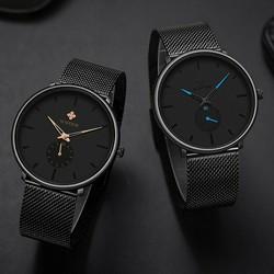 Đồng hồ đeo tay WWOOR thạch anh thời trang nam sang trọng 8855