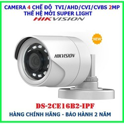 Trọn Bộ camera giám sát HIKVISION 2.0MPX - Bộ 4 mắt FHD 1080P - Tặng kèm HDD 500GB  Đủ phụ kiện tự lắp đặt - Bảo hành 24 Tháng [ĐƯỢC KIỂM HÀNG]