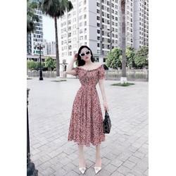 Đầm bầu thời trang thiết kế cao cấp rẻ đẹp 2020 V02 – Váy bầu suông dự tiệc đẹp dáng dài kẻ caro