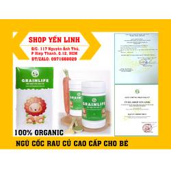 [Chính Hãng] Bột Ngũ Cốc Rau Củ Cho Bé của Lolifood Giàu dinh dưỡng với phức hợp giàu sắt, protein, Vitamin và khoáng chất - Hộp 400gr