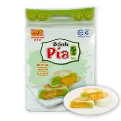 [Freeship] Bánh Pía Kim Sa Tan Chảy Dứa Tân Huê Viên Túi 480gr