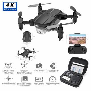 Flycam Mini, máy bay flycam, Flycam 4K Drone F8 kết nối WIFI, 2.4GHZ, ĐỘ PHÂN GIẢI 4K CHỤP ẢNH TRÊN KHÔNG truyền hình ảnh trực tiếp về điện thoại - Máy bay Flycam Drone F87 thumbnail