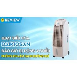 Quạt điều hoà Daikiosan DKA-01500B - mới 100   hàng chính hãng-Bảng điều khiển:Remote- Nút nhấn có màn hình hiển thị Tiện ích:Có thang đo hiển thị mực nước- Hẹn giờ tắt