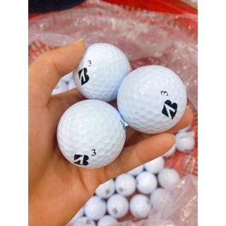 Combo 10 quả bóng golf B mới - Bóng Bridgestone mới skt thumbnail