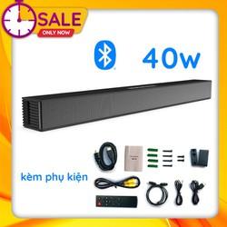 Loa Thanh Siêu Trầm Bluetooth Gaming Soundbar 40W Treo Tường BS-18 Dùng Cho Máy Vi Tính PC, Laptop, Tivi